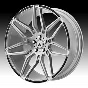 Asanti Black Label ABL-11 Brushed Silver Custom Wheels Rims