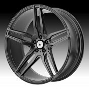 Asanti Black Label ABL-12 Matte Graphite Custom Wheels Rims
