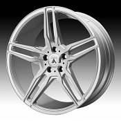 Asanti Black Label ABL-12 Brushed Silver Custom Wheels Rims