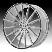 Asanti Black Label ABL-14 Brushed Silver Custom Wheels Rims