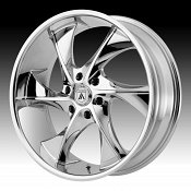 Asanti Black Label ABL-17 Chrome Custom Wheels Rims