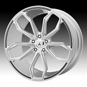 Asanti Black Label ABL-19 Brushed Silver Custom Wheels Rims