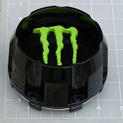 CAP-648MB-6-MG / Monster Energy Gloss Black Center Cap