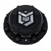 CAP-655BM-6-DB / DropStars Gloss Black Bolt-On Center Cap