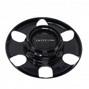 CAP-CLH6-B20 / Centerline Gloss Black Snap-In Center Cap