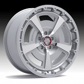 Center Line 631MS MM2 Machined Silver Custom Wheels Rims