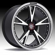 Center Line 632MB MM3 Machined Black Custom Wheels Rims