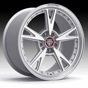 Center Line 632MS MM3 Machined Silver Custom Wheels Rims