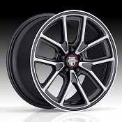 Center Line 633MB MM4 Machined Black Custom Wheels Rims