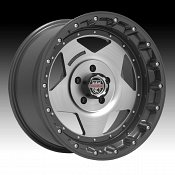 Center Line RT1 832GM Graphite Brushed Custom Wheels Rims