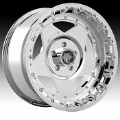Center Line RT1 832V Chrome Custom Wheels Rims