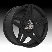Center Line ST1SB 834SB Satin Black Custom Wheels Rims