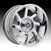 Center Line LT3 838C Eliminator Chrome Plated Custom Wheels Rims