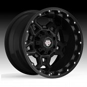 Center Line LT4 839B Zodiac Gloss Black Custom Wheels Rims