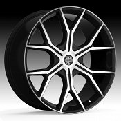 Center Line ST3 840MB Slingshot Machined Black Custom Wheels Rim