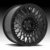 Centerline F42SB LP3 Satin Black Custom Wheels Rims