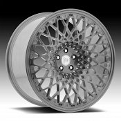 Centerline F42HB LP3 Brushed Dark Tint Custom Wheels Rims