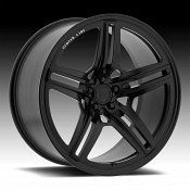 Centerline F43SB LP4 Satin Black Custom Wheels Rims