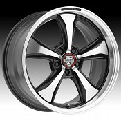 Center Line 635MB MM6 Machined Black Custom Wheels Rims