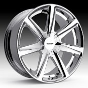 Cruiser Alloy 922C Kinetic Chrome Custom Wheels Rims