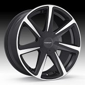 Cruiser Alloy 922MB Kinetic Machined Black Custom Wheels Rims