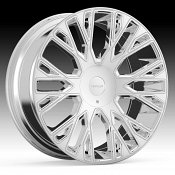 Cruiser Alloy 923C Raucous Chrome Plated Custom Wheels Rims
