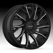 Cruiser Alloy 925MB Cutter Machined Black Custom Wheels Rims