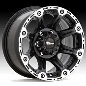 Dick Cepek Torque Matte Black Machined Custom Rims Wheels