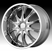 Diamo DI30 Karat Chrome Custom Rims Wheels