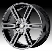 Diamo DI39 Karat Black PVD Chrome Custom Rims Wheels