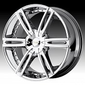Diamo DI39 Karat Bright PVD Chrome Custom Rims Wheels