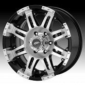 Dale Jr DJ1091 1091 Cannon Machined Face Gloss Black Custom Rims