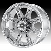 Dale Jr DJ6091 6091 Cannon Chrome Custom Rims Wheels