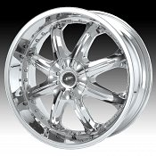Dale Jr DJ650 650 Octane Chrome Custom Rims Wheels