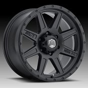 Mickey Thompson Deegan 38 Pro-2 Matte Black Custom Wheels Rims