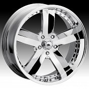 Dip D04 04 X Chrome Custom Wheels Rims