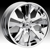 Dip D11 Chrome Custom Wheels Rims