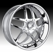 Dip D64 Boomerang Chrome Custom Wheels Rims