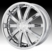 Dip D67 Ice Chrome Custom Wheels Rims
