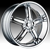 Dip D68 Ambush Chrome Custom Wheels Rims