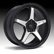 Drifz 304M Circuit Machined Black Custom Wheels Rims
