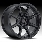 Drifz 308B Spec-R Satin Black Custom Wheels Rims