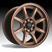 Drifz 308BZ Spec-R Gloss Bronze Custom Wheels Rims