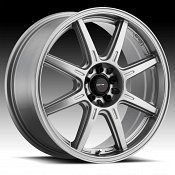 Drifz 308GG Spec-R Gloss Graphite Custom Wheels Rims