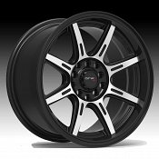 Drifz 308MB Spec-R Machined Black Custom Wheels Rims