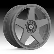 Drifz 312G Track Star Matte Graphite Custom Wheels Rims