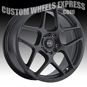 Drifz 301BB Monoblock Satin Black Custom Rims Wheels