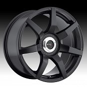 Drifz 305B Monza 305 Satin Black Custom Rims Wheels