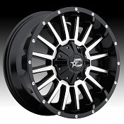 DropStars 646MB Machined Black Custom Wheels