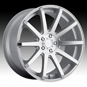 DropStars DS43 643MS Machined Silver Custom Rims Wheels